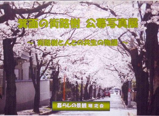 みのおの街路樹公募写真展
