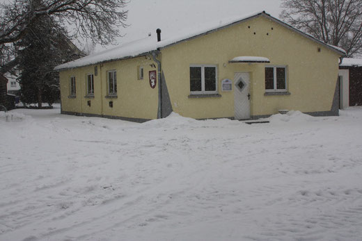 Winter ums Haus