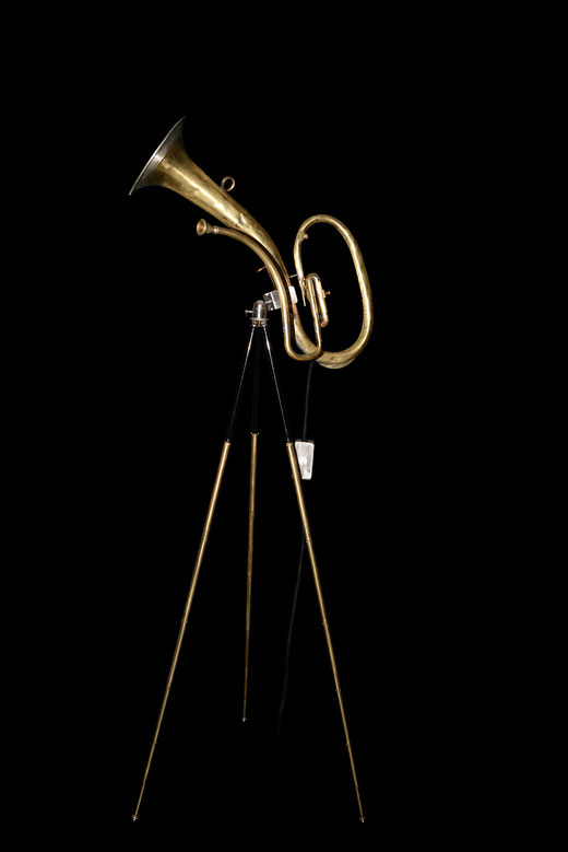 .the Kurosawa. Fantasy Instrument on Brass Tripod. Sold.