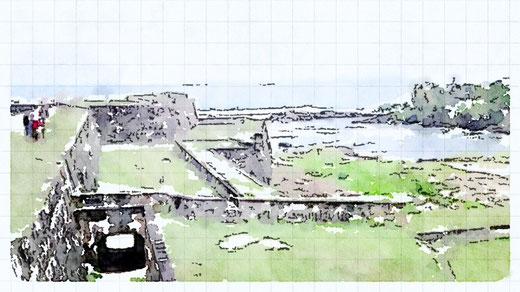 Galleの城壁