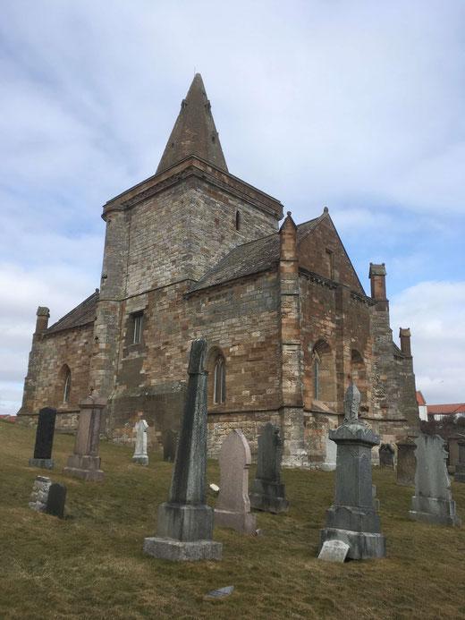 Die Kirche von St. Monans stammt aus dem 14. Jahrhundert