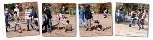Kinder beim Spielen / OGS-Betreuung an der Montessorischule Wesel
