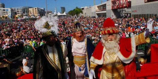 Horario y recorrido de la Cabalgata de Reyes de Las Palmas de Gran Canaria