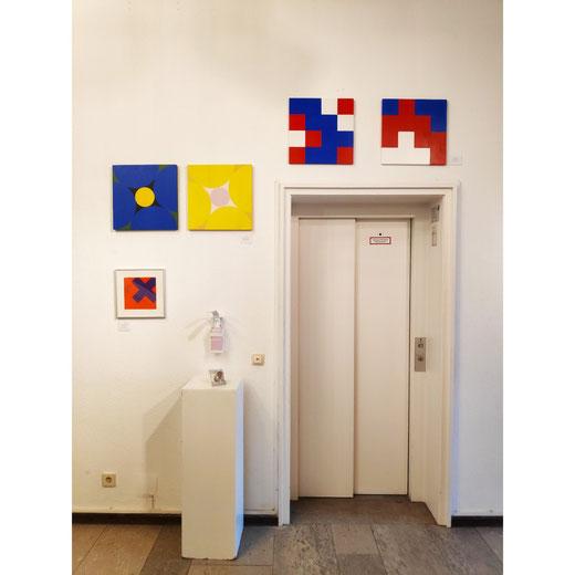 Ellen Roß, Kunstsalon Koblenz 2020, mehrkunst