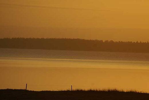 Die Ho-Bucht am Morgen