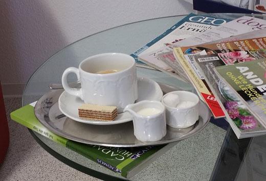 Kaffee für Frauchen