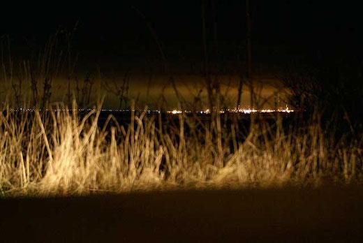 Esbjerg bei Nacht