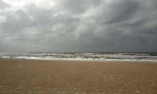 Am Strand von Hvide Sande