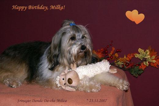 Milkas 5. Geburtstag