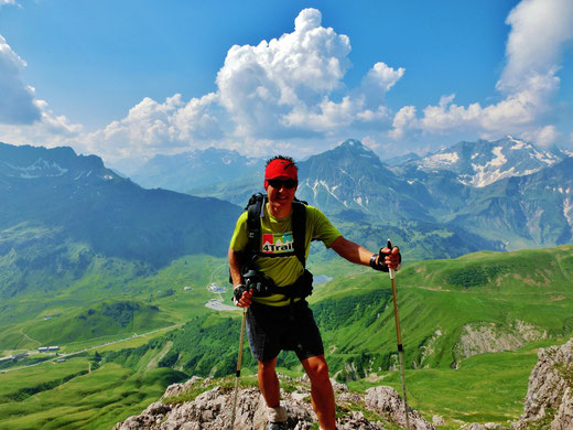 Bergtour auf den Widderstein vom 22.07.2013
