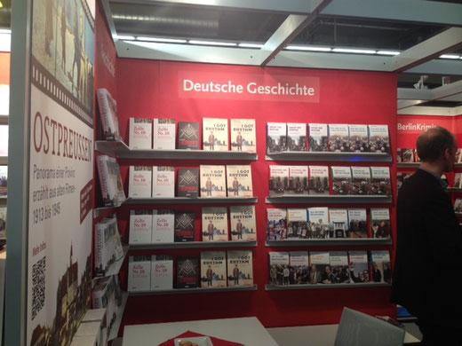 """Auf der Frankfurter Buchmesse präsentiert der be.bra Verlag aus Berlin die Graphic Novel """"I got Rhythm"""" über das Leben von Coco Schumann. © Niels-Schroeder"""