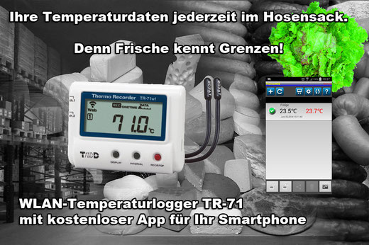 Temperatur Funklogger WLAN Datenlogger WiFi