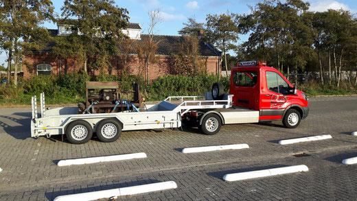 Spoorijzer RT11 Both 30 vlak na het opladen in Valkenburg op 19-10-2018
