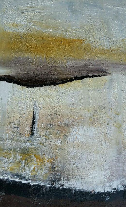 Michaela Nagel - Astratto - tecnica mista su tela - 40 x 60