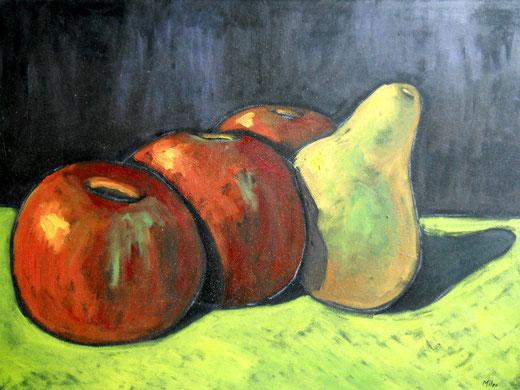 Mileo Gianni (Italia) - Natura morta - olio tela - 70 x 50