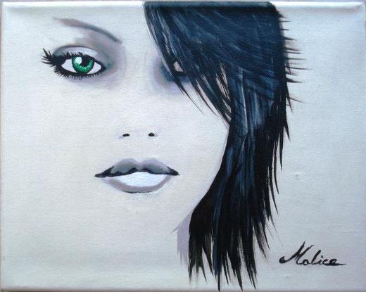 Alice Mauro – Chiara Acrilico, Tela, 30x24cm