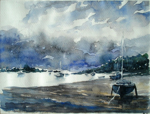 Fracasso Pasqualino - Colori di Bretagna - acquerello carta - 35 X 25