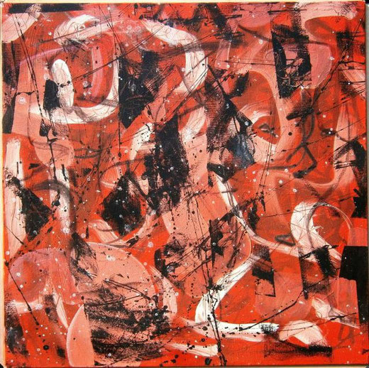 Ciani Marco - Caos - acrilico tela - 50 X 50