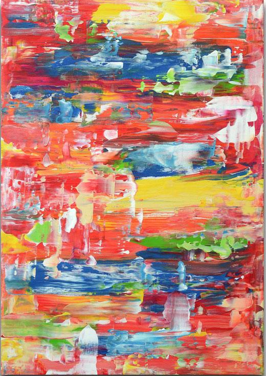 Viktor Bonn - Gum - olio su tela - 60 x 42
