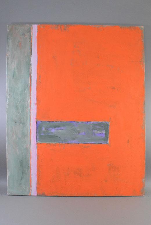 Olivier Steffens - Astratto - acrilico su tela - 100 x 80