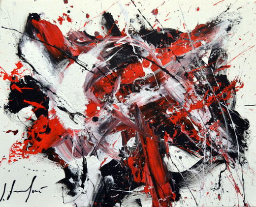 Silvio Formichetti - Astratto - olio tela - 50 X 40