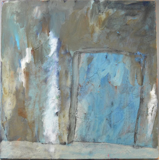 Olivier Steffens - Astratto - olio su tela  - 60 x 60