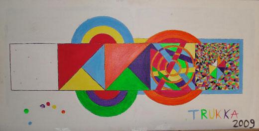 Lorenzo Dalmasso - Redemption painting - acrilico su tela - 100 x 50
