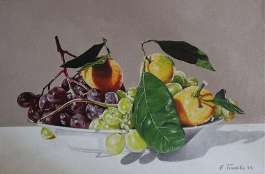Enza Trovato - Natura morta - olio su tela - 60 x 40