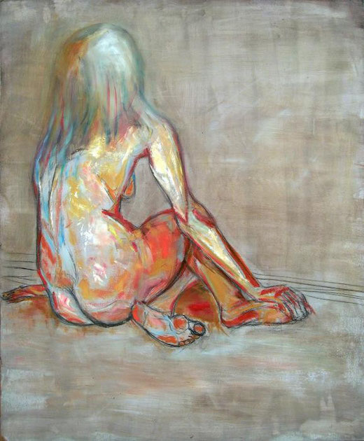 Pappalardo Piero - Less over less - olio legno - 74 x 90