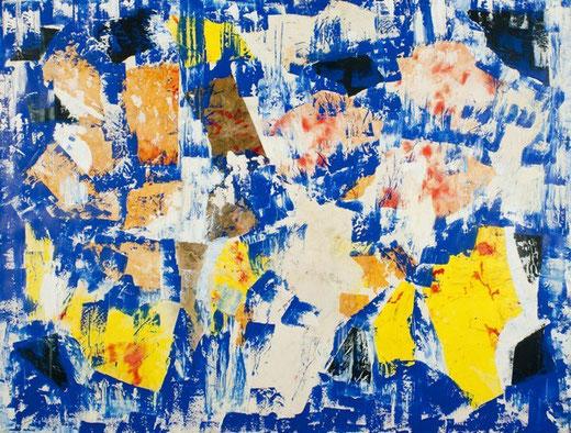 Zorzenon Elvio (Italia) - Senza titolo - tecnica mista su tela - 170 x 130