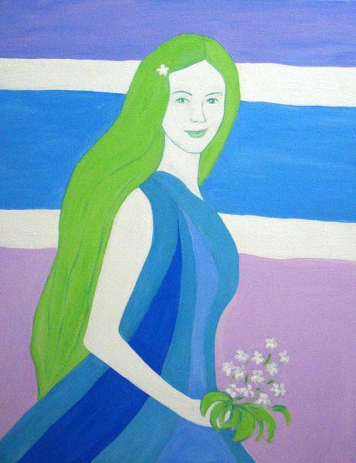 Natalia Kessler - Spring - olio su tela - 70 x 90