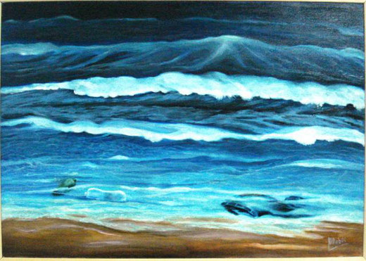 nobili maria resti-tuzioni olio su tela 50 x 35