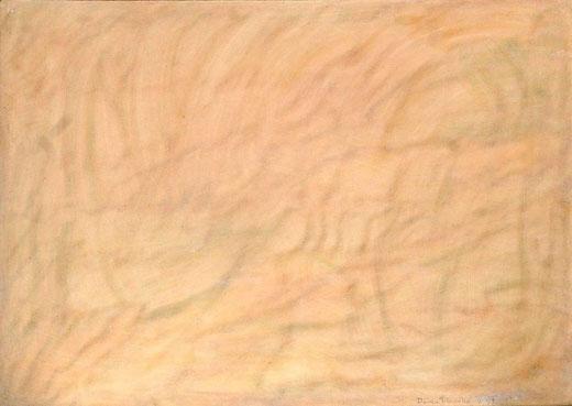 Paolo Pasotto - senza titolo - olio tela -  50 x 70