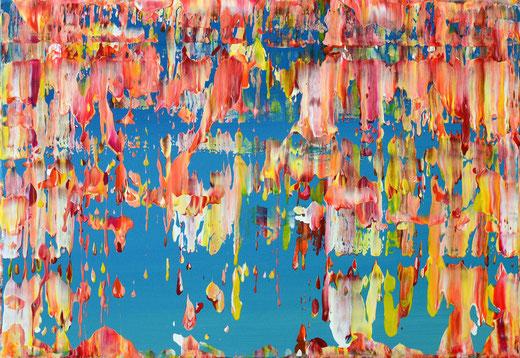 Viktor Bonn - Wonne - olio su tela - 60 x 42