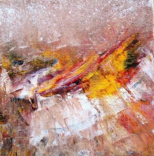 Killeen Diarmaid  - Glacier - olio tela - 15 X 15
