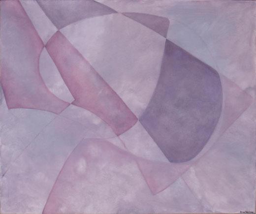 Elisa Capiluppi - Impalpabili geometrie olio su tela 100 x 120