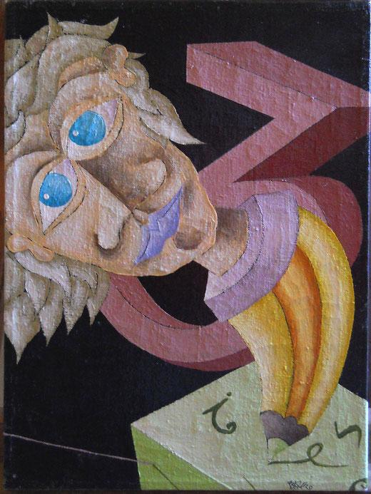 Luca Bruno - Armonia di un momento - olio tela - 30 X 40