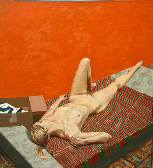 Kowalik Marcin (Italia) - Nudo - acrilico su tela - 160 x 148