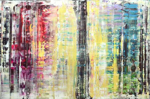 Viktor Bonn - Prärie - olio su tela - 135 x 90