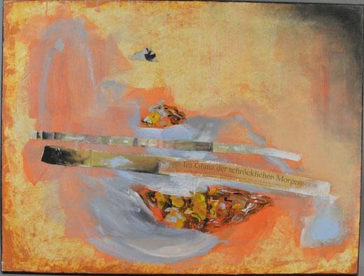 Olivier Steffens - Astratto - olio su tela - 60 x 80