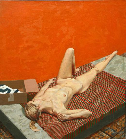 Kowalik Marcin (Polonia) - Nudo - acrilico su tela - 160 x 148