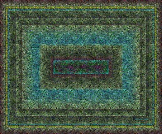 Ferdinando Sorbo - Digital texture - processing graphics su tela - 70 x 50