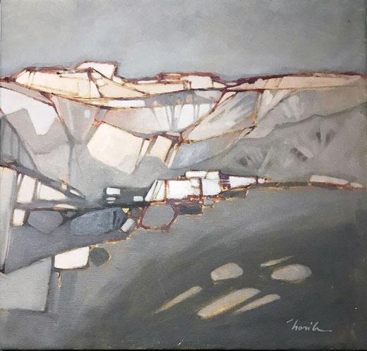 Basile Livio - Paesaggio - acrilico su tela - 50 x 50