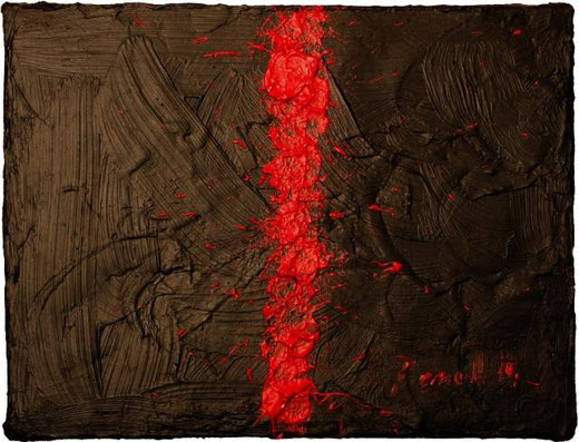 Benedetti Carolina - Cicatrice II olio tela 24 X 18