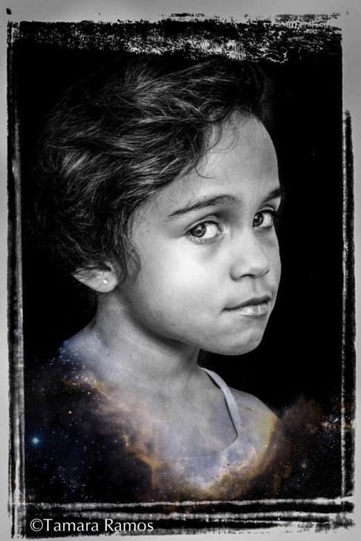 Ramos Tamara (USA) - Little girl - fotografia su carta - 50 x 70