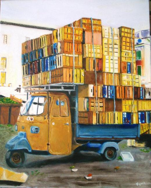 Pappalardo Piero (Italia) - La lapa - olio tela - 40 x 50