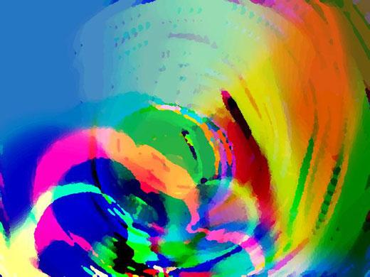 farina maurizio gioco computer graphics su lastra 100 x 70