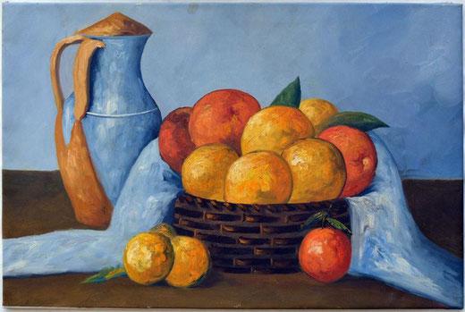 Marzetti Luca (Italia) - Natura morta - olio su tela - 90 x 60