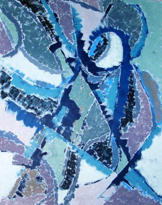 capiluppi elisa attrazioni acrilico su tela 80 X 100