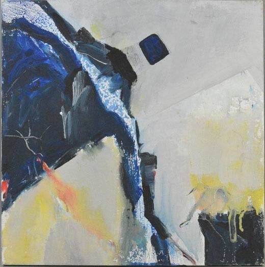 Olivier Steffens - Astratto - olio su tela - 40 x 40